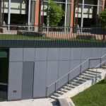 Webster University Fiber Concrete Panels
